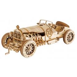 Maquette en bois Voiture ancienne Grand Prix