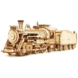 Maquette en bois Locomotive à vapeur