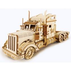 Maquette en bois Camion américain
