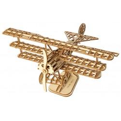 Maquette en bois Avion Triplan