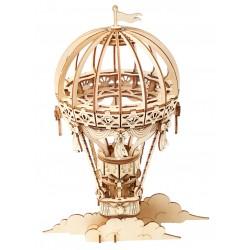Maquette en bois Montgolfière