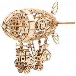 Maquette en bois Ballon Dirigeable