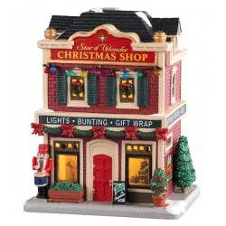 Maison lumineuse Magasin de Noël Lemax Caddington