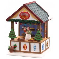 Chalet marché de Noël lumineux Décorations Lemax