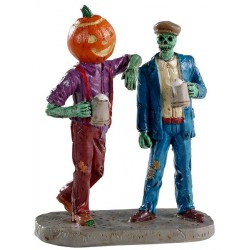 Zombies qui trinquent Lemax Halloween