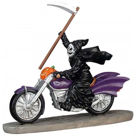 La faucheuse en moto Lemax Halloween