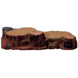 Plateforme de présentation rochers 2 niveaux Lemax