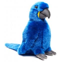 Peluche perroquet bleu 25 cm
