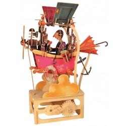 Automate en bois fou volant en kit 45 cm