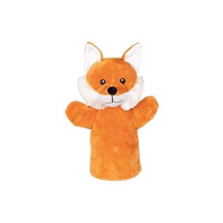 Marionnette à main en tissu renard 28 cm