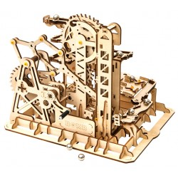 Maquette en bois animée Circuit de billes