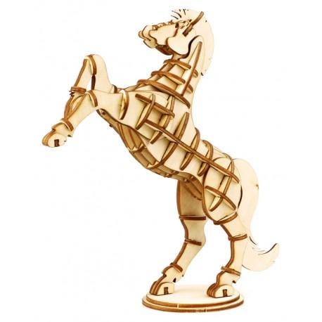 Maquette en bois cheval