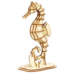 Maquette en bois Hippocampe