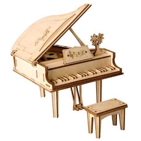 Maquette en bois Piano à queue