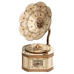 Maquette en bois Gramophone