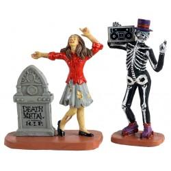 Zombies danseurs Lot de 2 Lemax Halloween