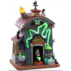 Maison lumineuse Fabrique de potions Lemax Halloween