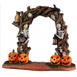 Arche terrifiante lumineuse Lemax Halloween