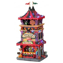 Tour d'attractions effrayante lumineuse Lemax Halloween