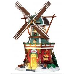 Moulin à vent lumineux et animé Lemax Vail Village