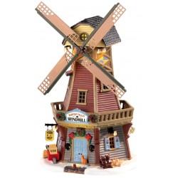 Moulin à vent lumineux et animé Lemax Harvest Crossing