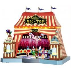 Cirque lumineux animé sonore Lemax