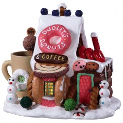 Magasin lumineux Donuts et café Lemax Sugar N Spice