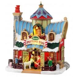 Zoo du Père Noël lumineux Lemax Santas Wonderland
