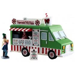 Food truck Menthe Poivrée Lot de 3 Lemax