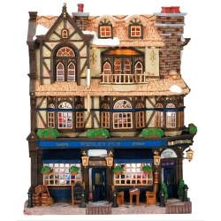 Façade lumineuse Pub anglais Lemax Caddington