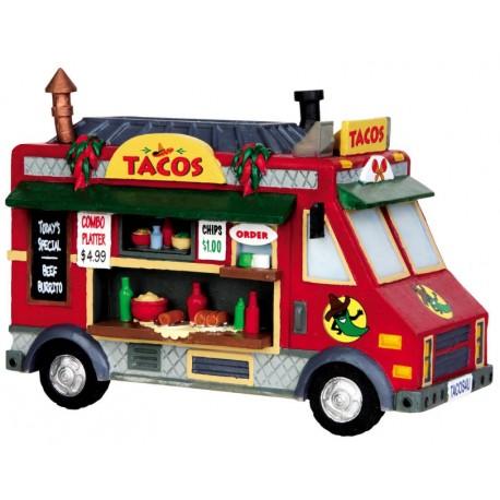 Camion de tacos Lemax Harvest Crossing