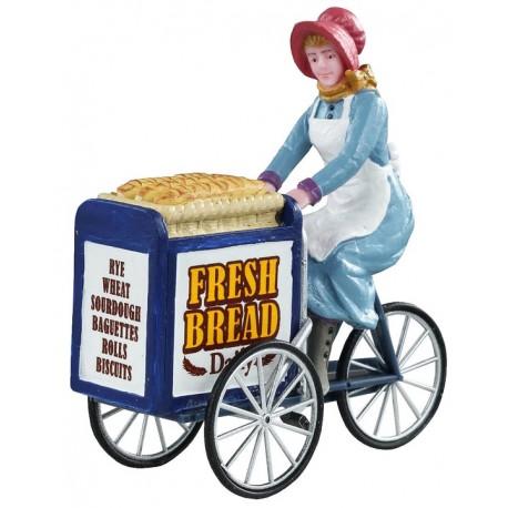 Livreuse de pain à vélo Lemax Caddington