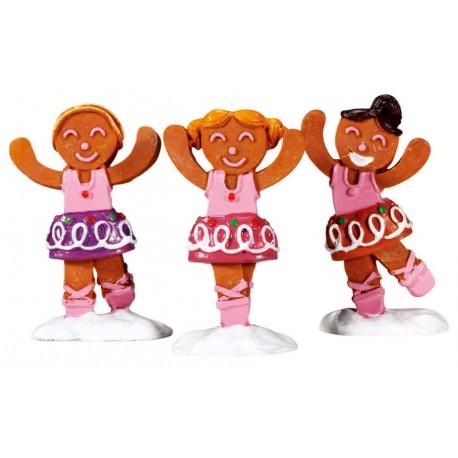 Danseuses Lot de 3 Lemax Sugar N Spice
