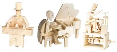 Maquettes automates en bois