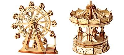 Maquettes décoratives